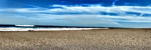 Beach, waves, and sunshine in Myrtle Beach, North Carolina.
