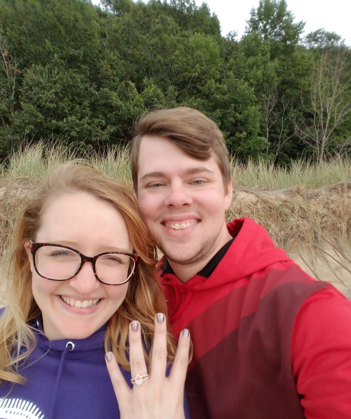 A-person-with-travel-insurance-gets-engaged