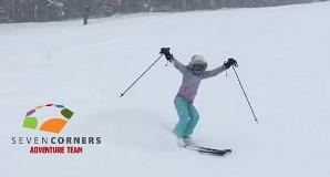 Amy Skiing