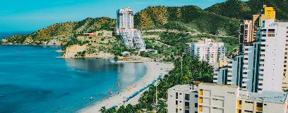 Caribbean destination resort with white sandy beaches and beautiful ocean views.