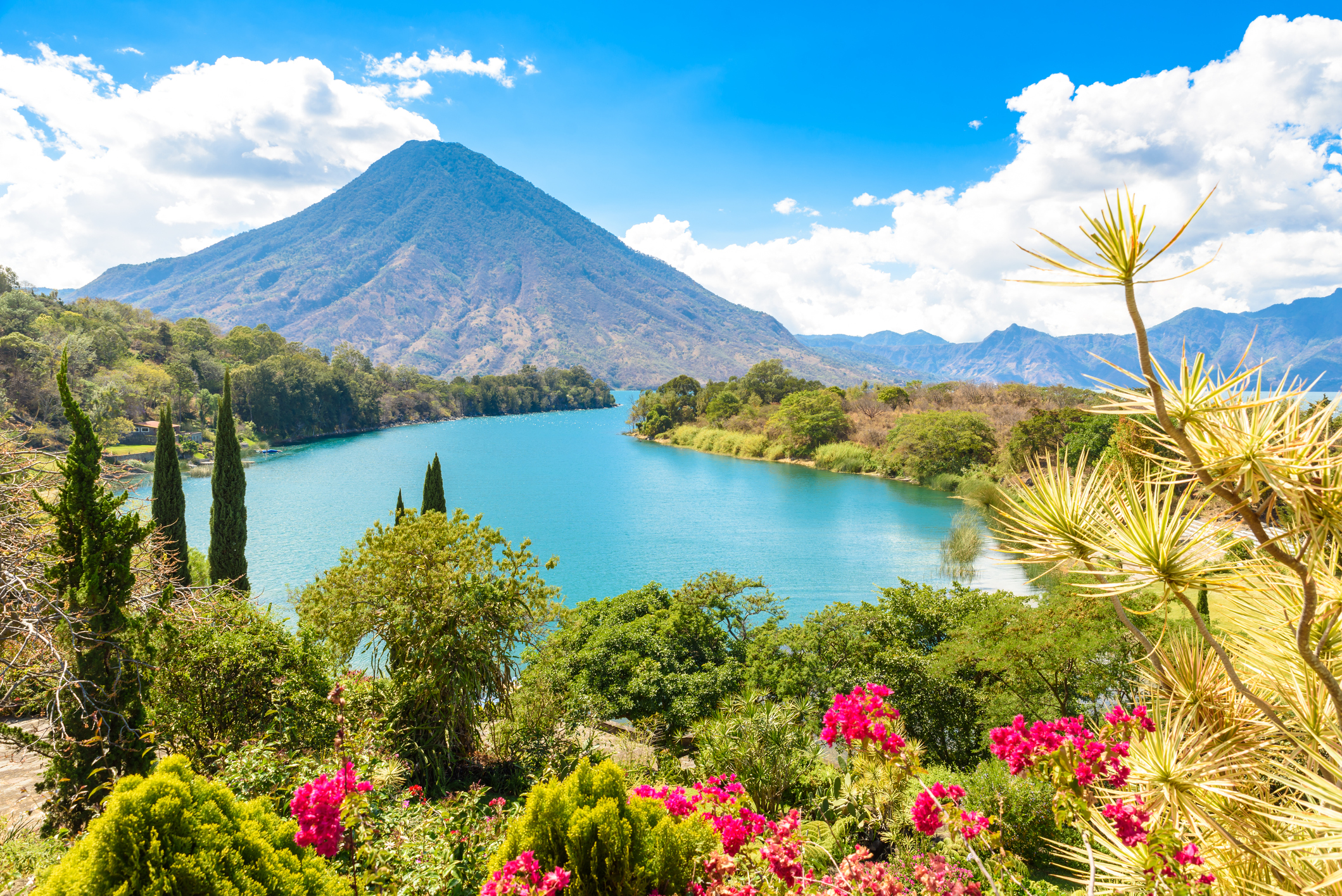 A-scenic-view-of-Lake-Atitlan