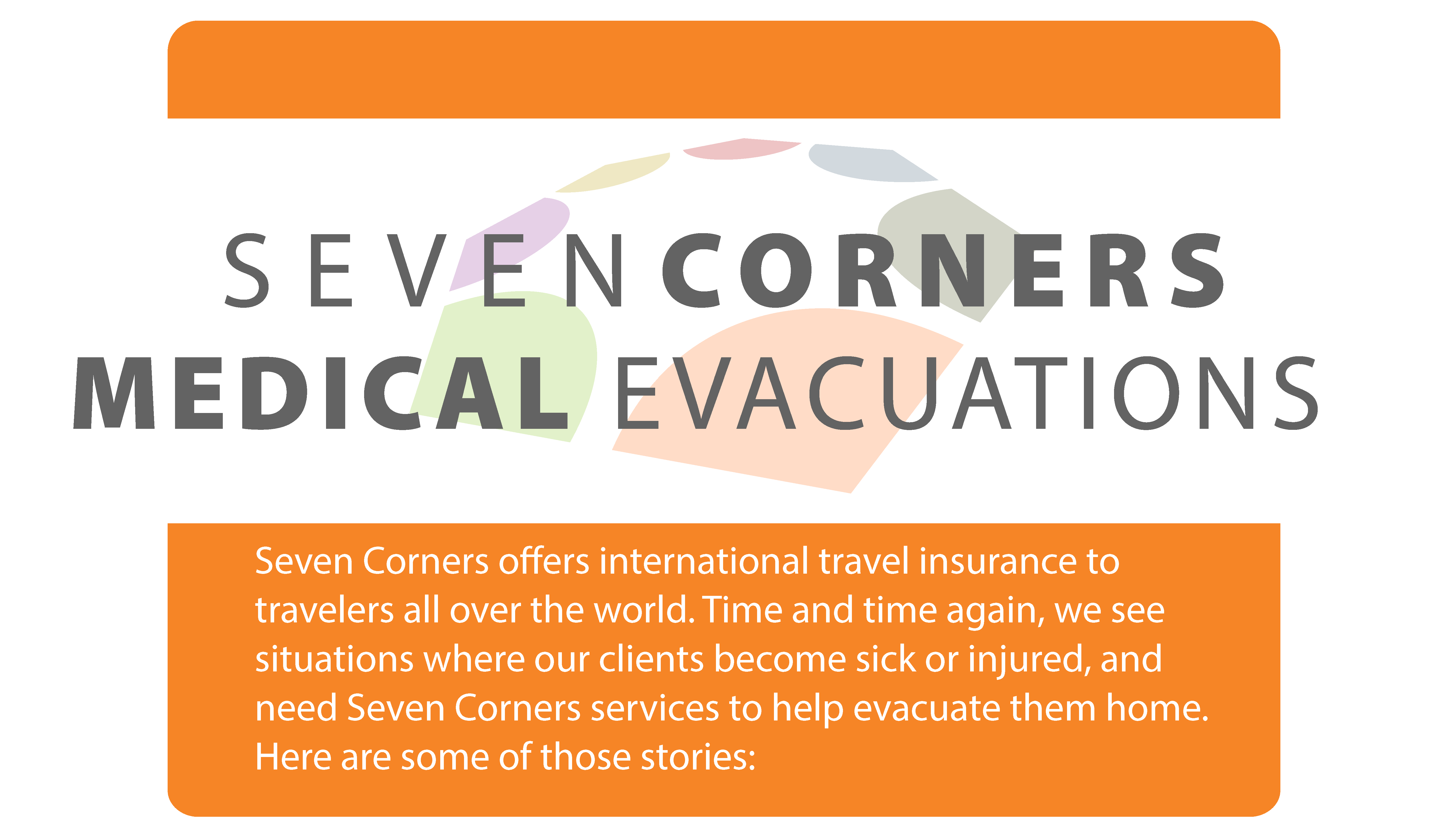 Seven Corners Medical Evacuations Infographic
