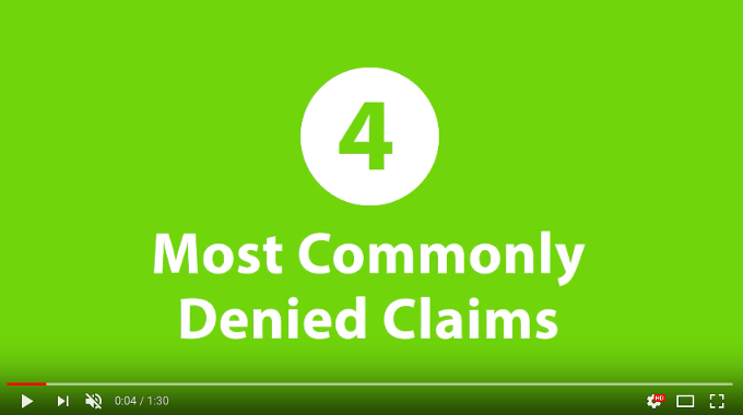 4-Most-Commonly-Denied-Claims-Lime-Green-Background